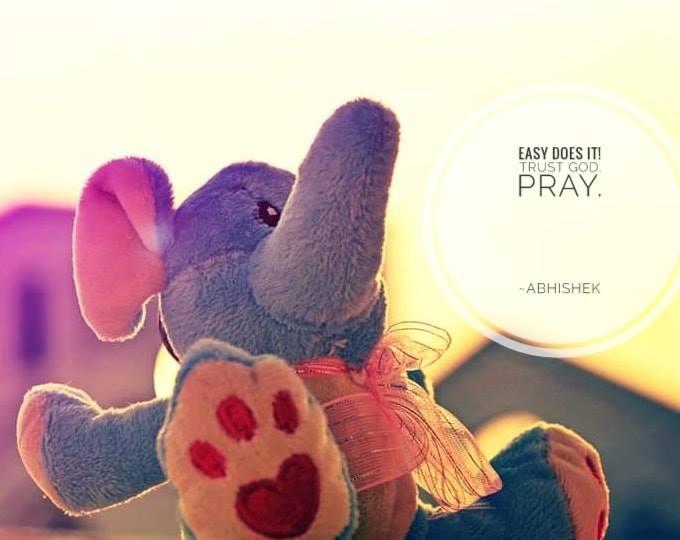 Trust God, Pray